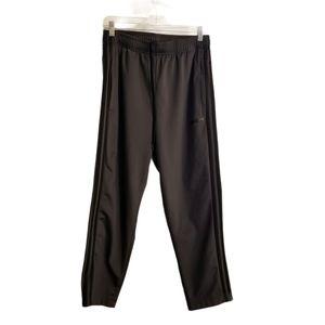 Adidas Gray 3 Stripes Track Pants